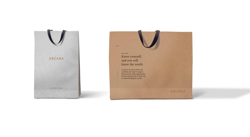 Arcana Shopping Bag