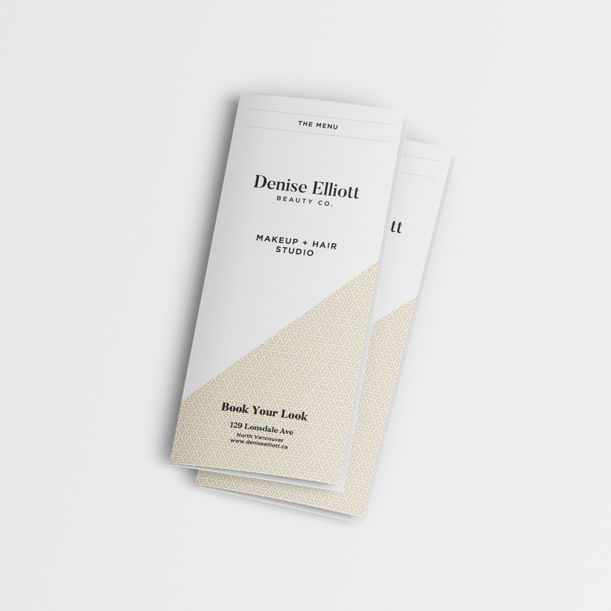 Denise Elliott Beauty Co. - In Store Brochure - Print Material