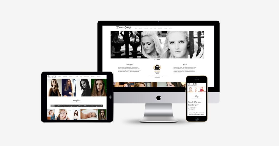 Denise Elliott Makeup Website