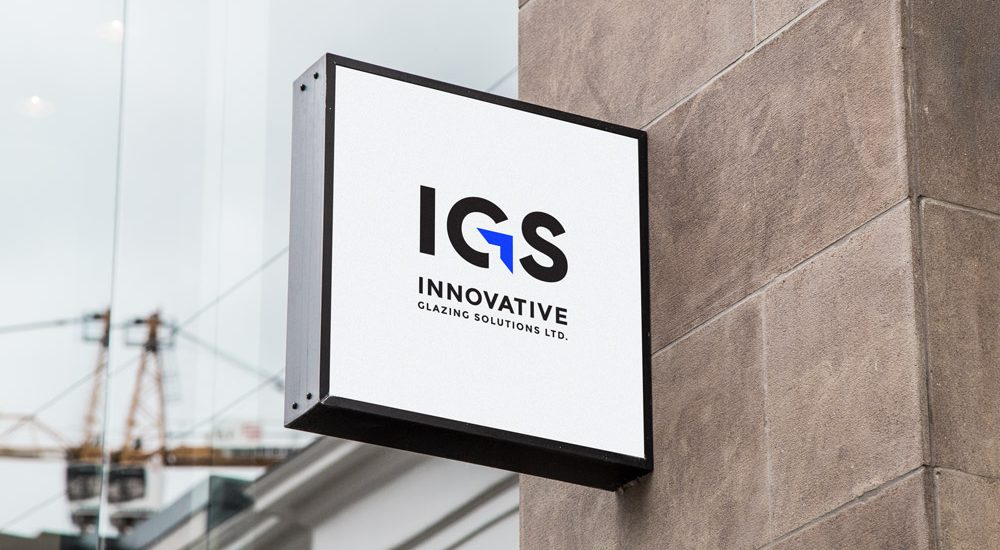 Innovative Glazing Solutions - Storefront with logo