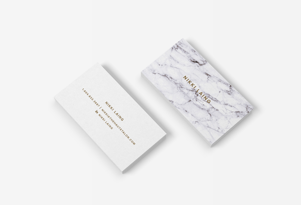 Nikki Laing Business Cards | Branding | Logo