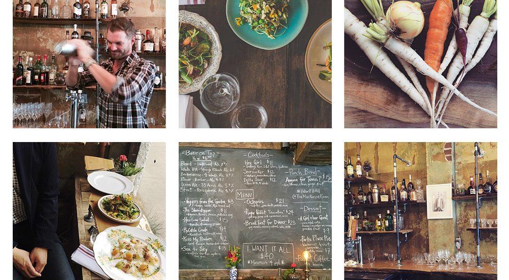 The Mackenzie Room Instagram Feed
