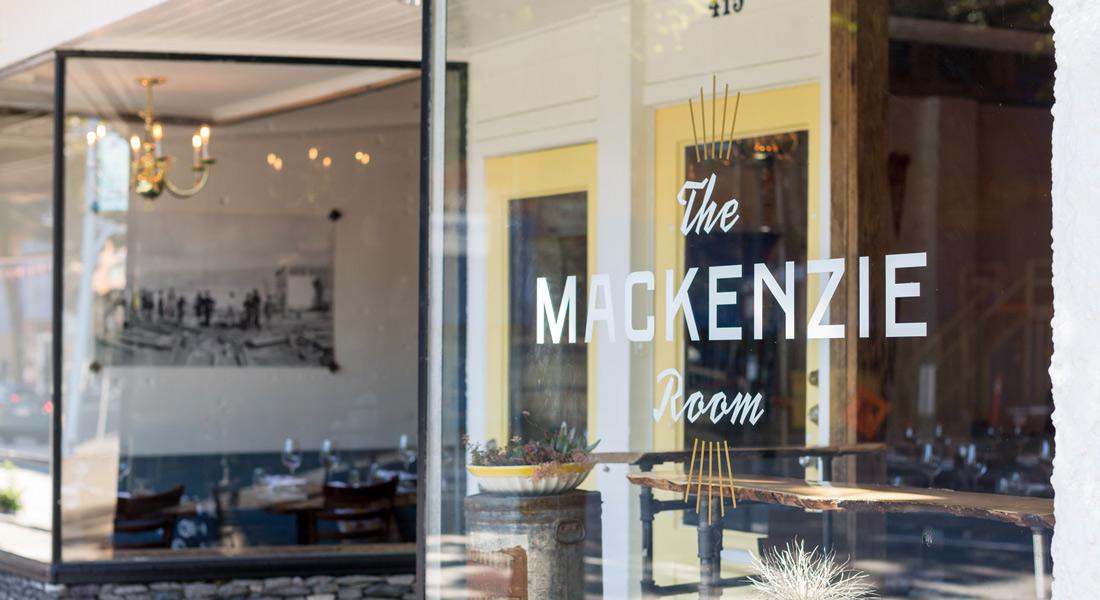 The Mackenzie Room Store Front | Branding | Logo | Print