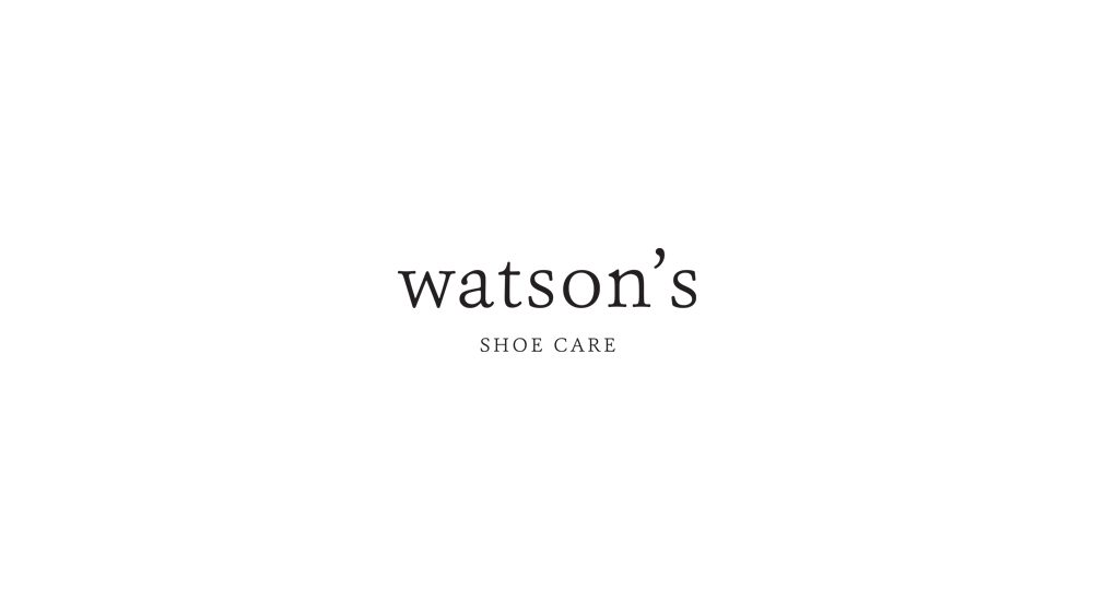 Watson's Shoe Care - Private Label Logo