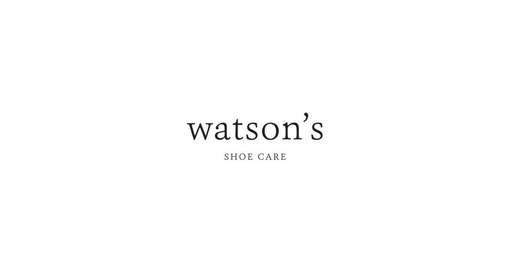Watson's Shoe Care - Private Label Logo