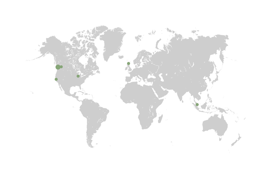 Location of our clients