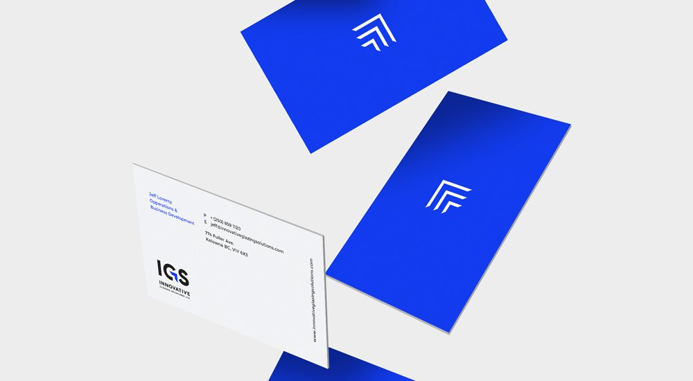 Innovative Glazing Solutions Business Cards