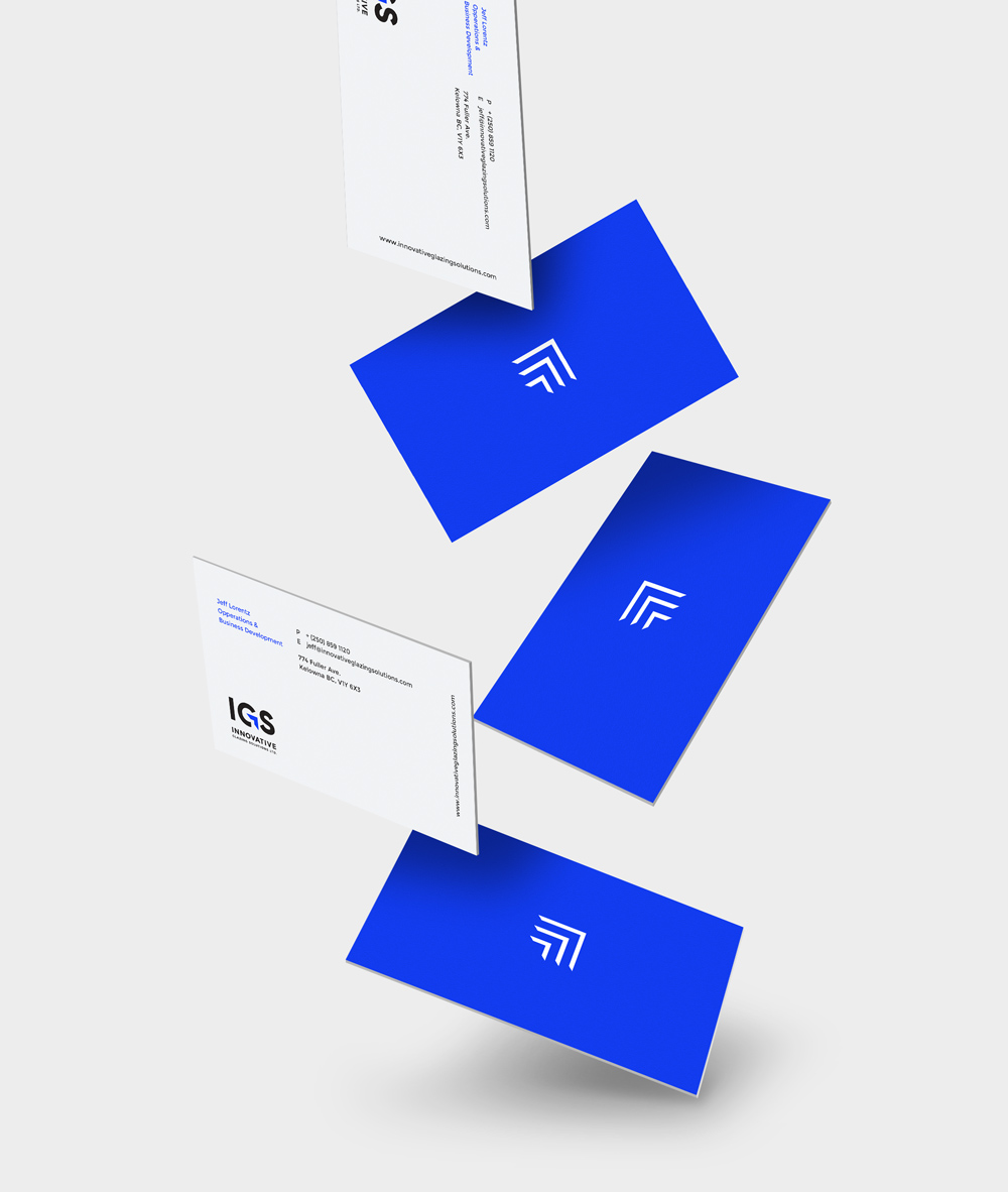 Innovative Glazing Solutions - Business Cards