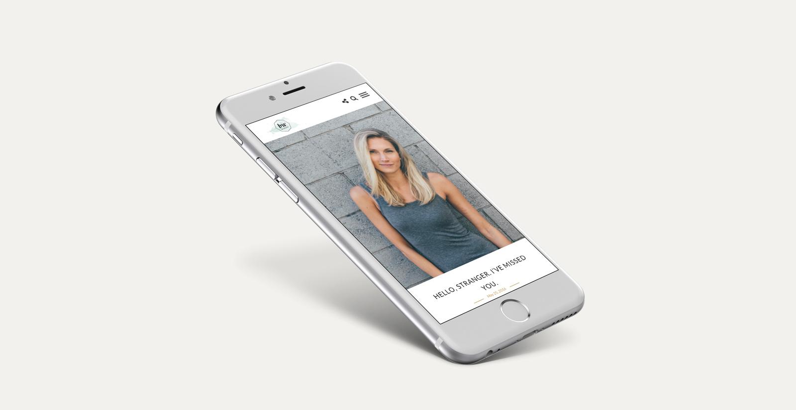 Broad World Mobile Website