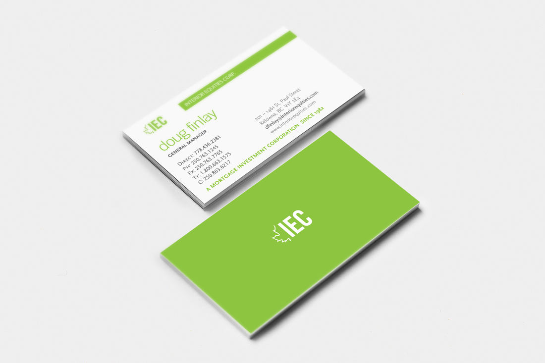 Interior Equities Corp. | Business Cards | Branding | Logo