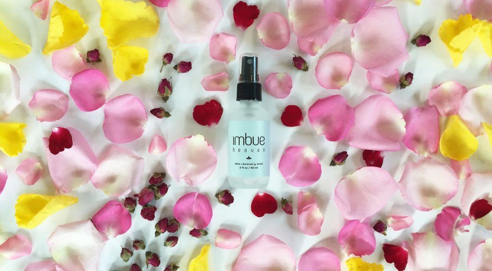 Imbue Goods 60ml product with roses