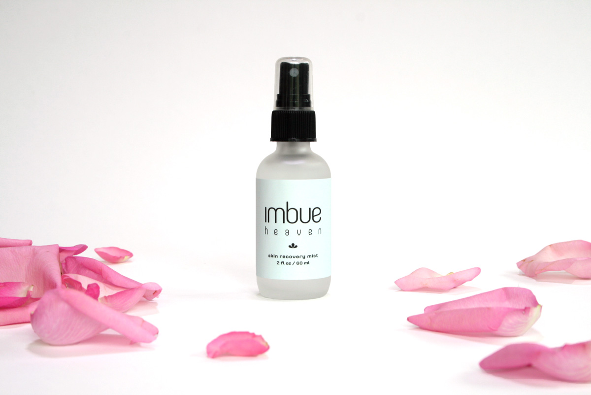 Imbue Goods - Heaven Product shot with roses