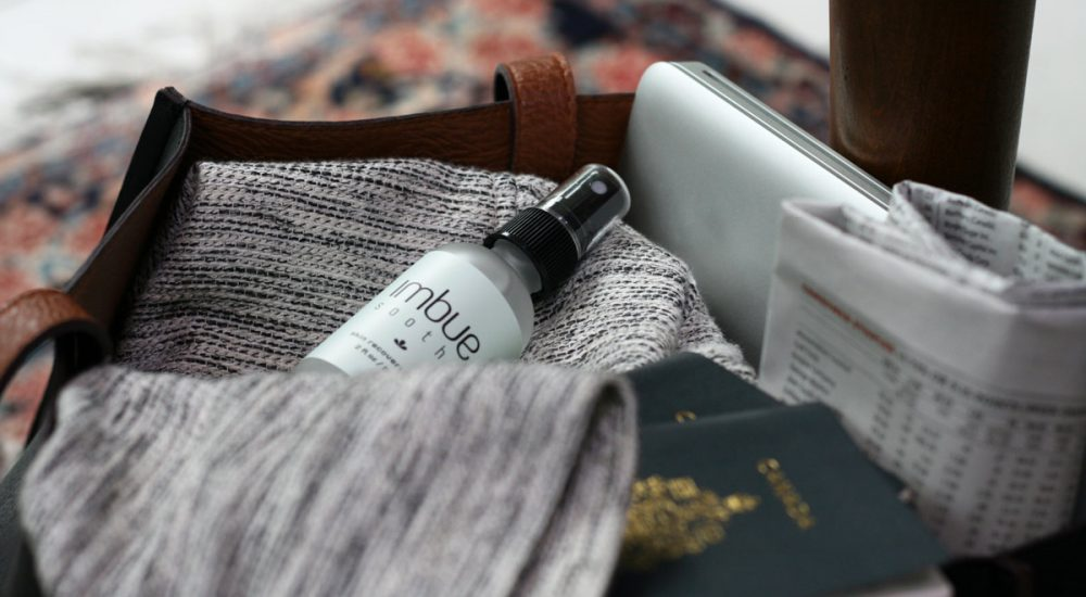 Imbue Goods - Soothe with travel bag