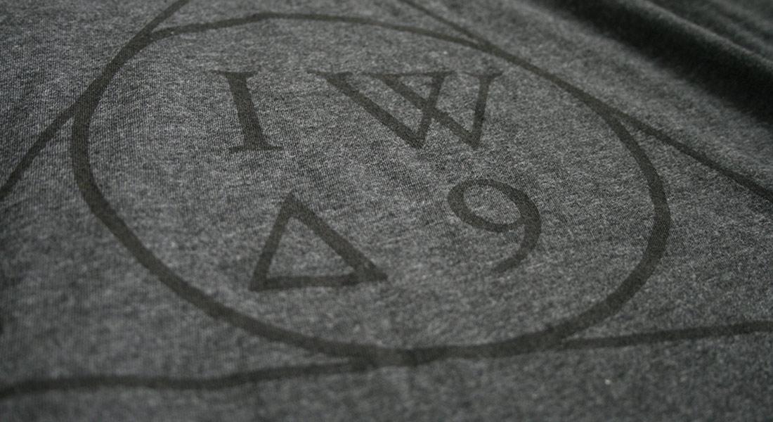 IWA9 Logo on Tshirt