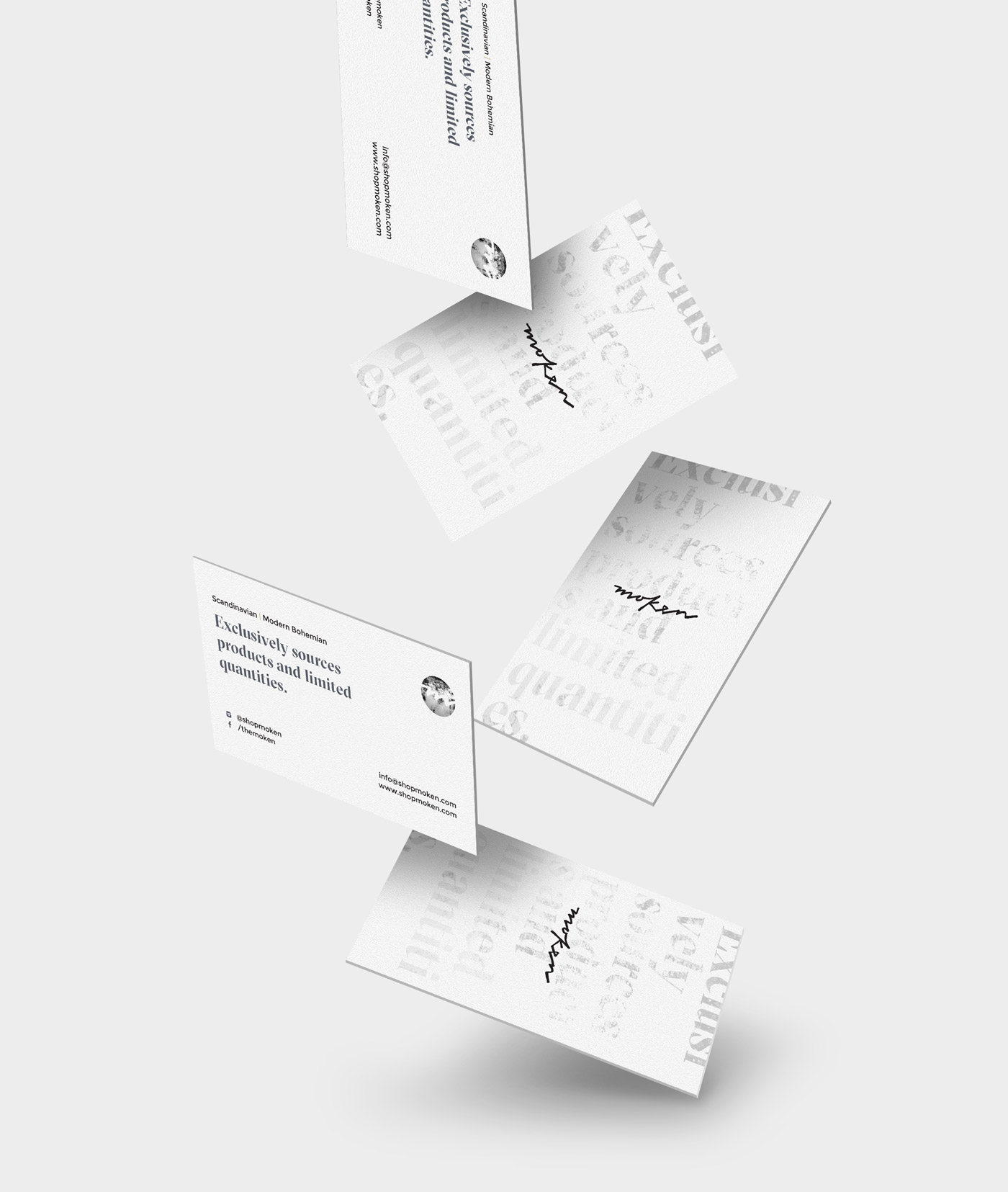 Moken - Business Cards