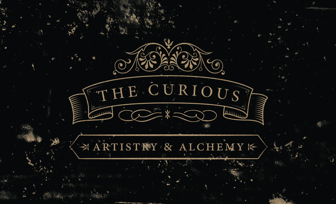 The Curious Cafe - Logo and Business Card | Branding | Logo | Print