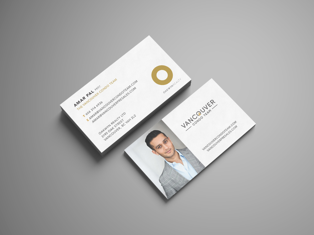 Vancouver Presales - Business Card Amar Pal