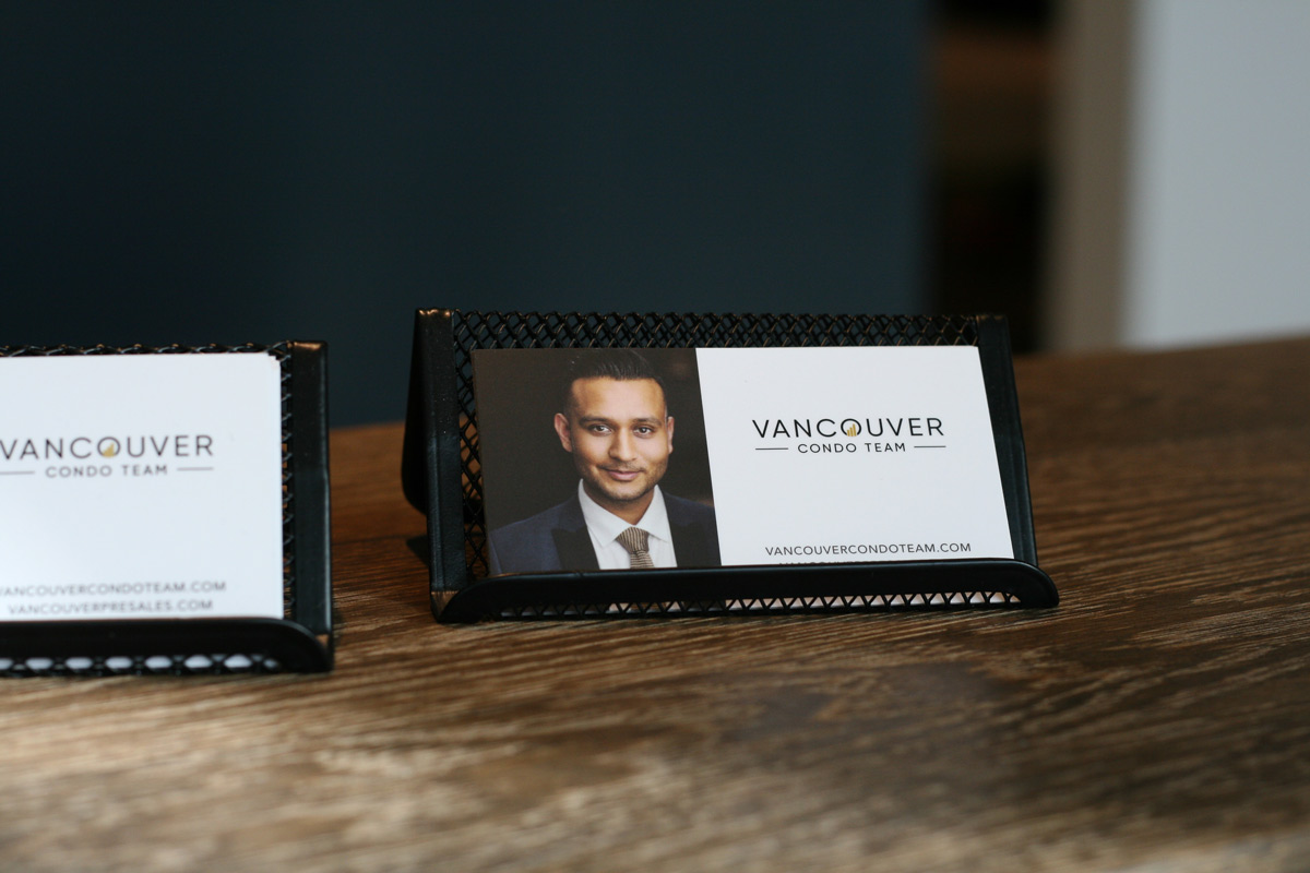 Vancouver Condo Team - Business Cards