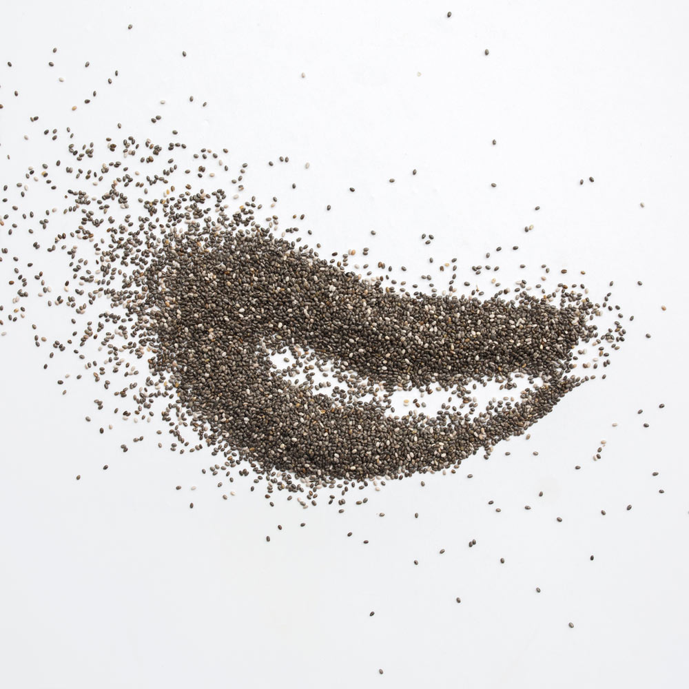 Product Photography - chia seeds