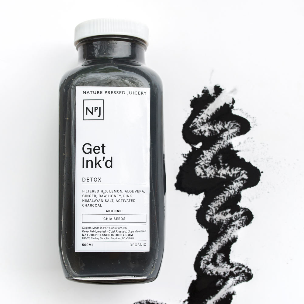 Get Inkd - Cold Pressed Juice with Activated Charcoal