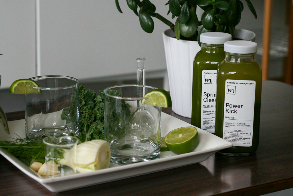 Nature Pressed Juicery -Organic Cold Pressed Juice