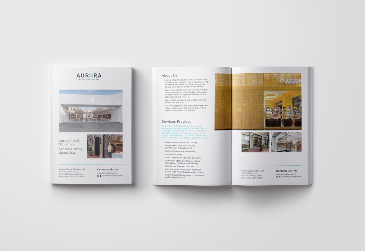 Aurora Glazing Solutions Brochure