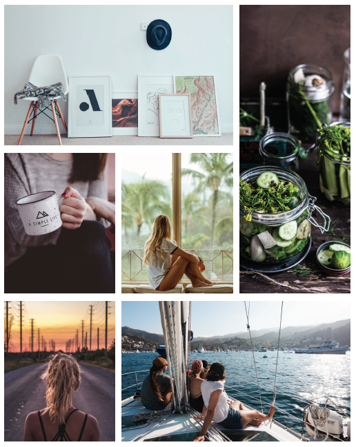 Gentle Fawn Editorial Angle Moodboard