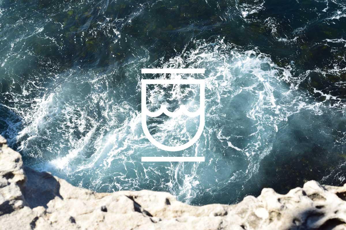 West Coast Water Shield Inc. - logo on ocean