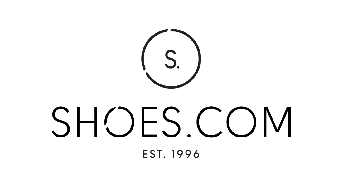 SHOES.COM logo design by Laura Ramsay
