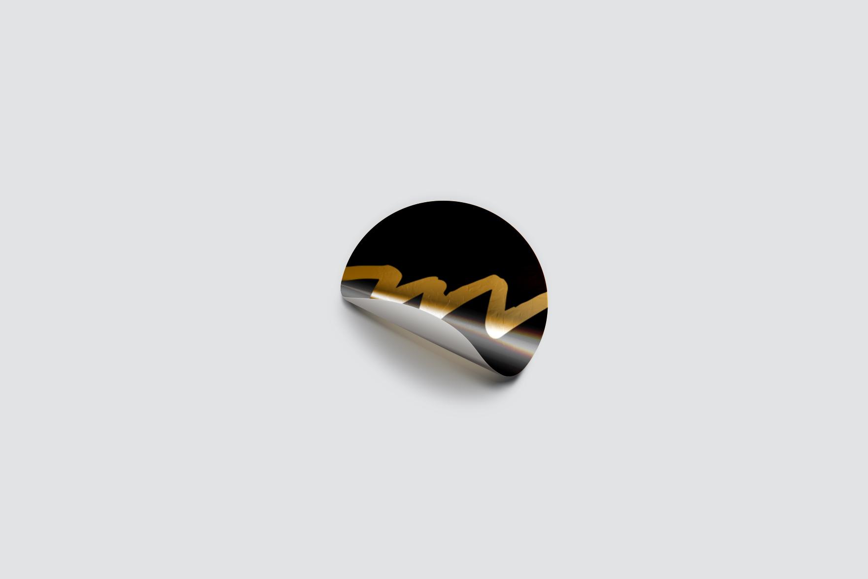 Moken Foil Sticker