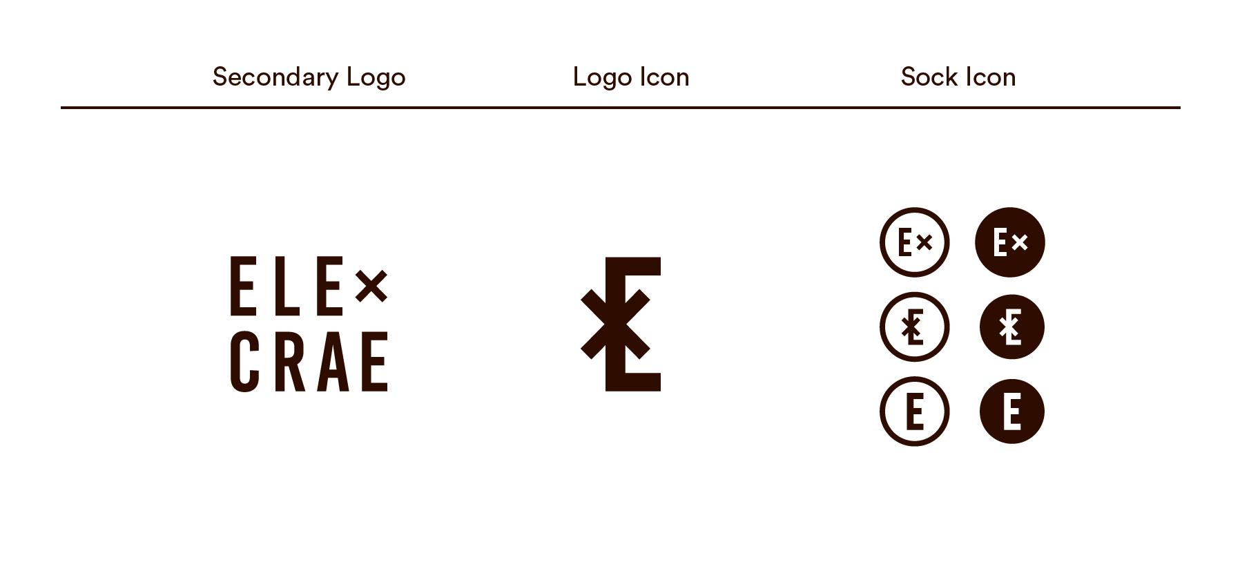 Elecrae Socks Logo design