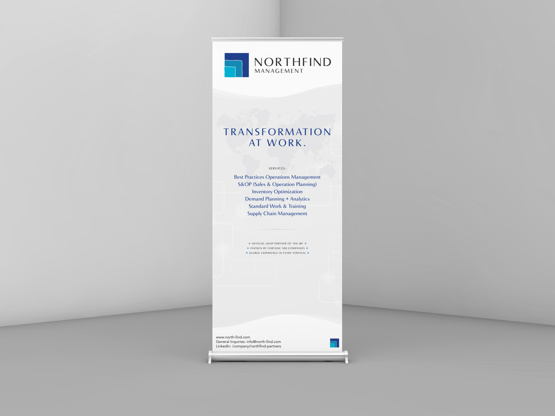 NorthFind Management - Banner Roll Up