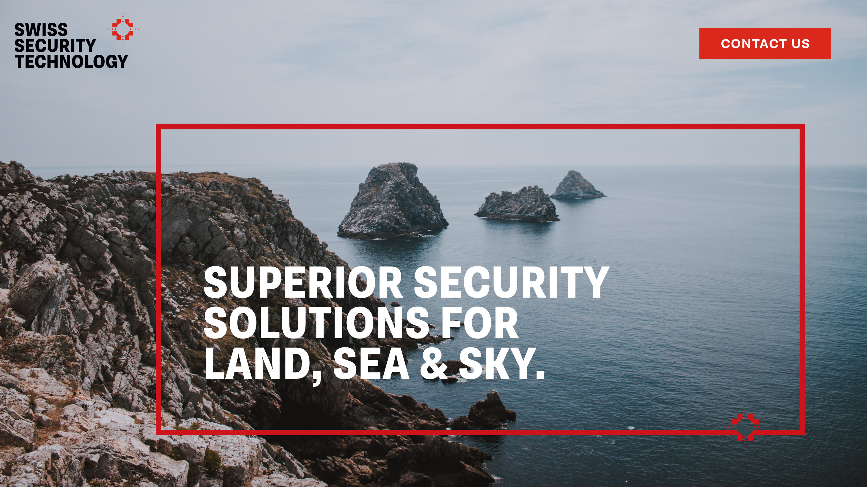 Swiss Security Technology Logo, Website Design and Branding by Laura Ramsay Design