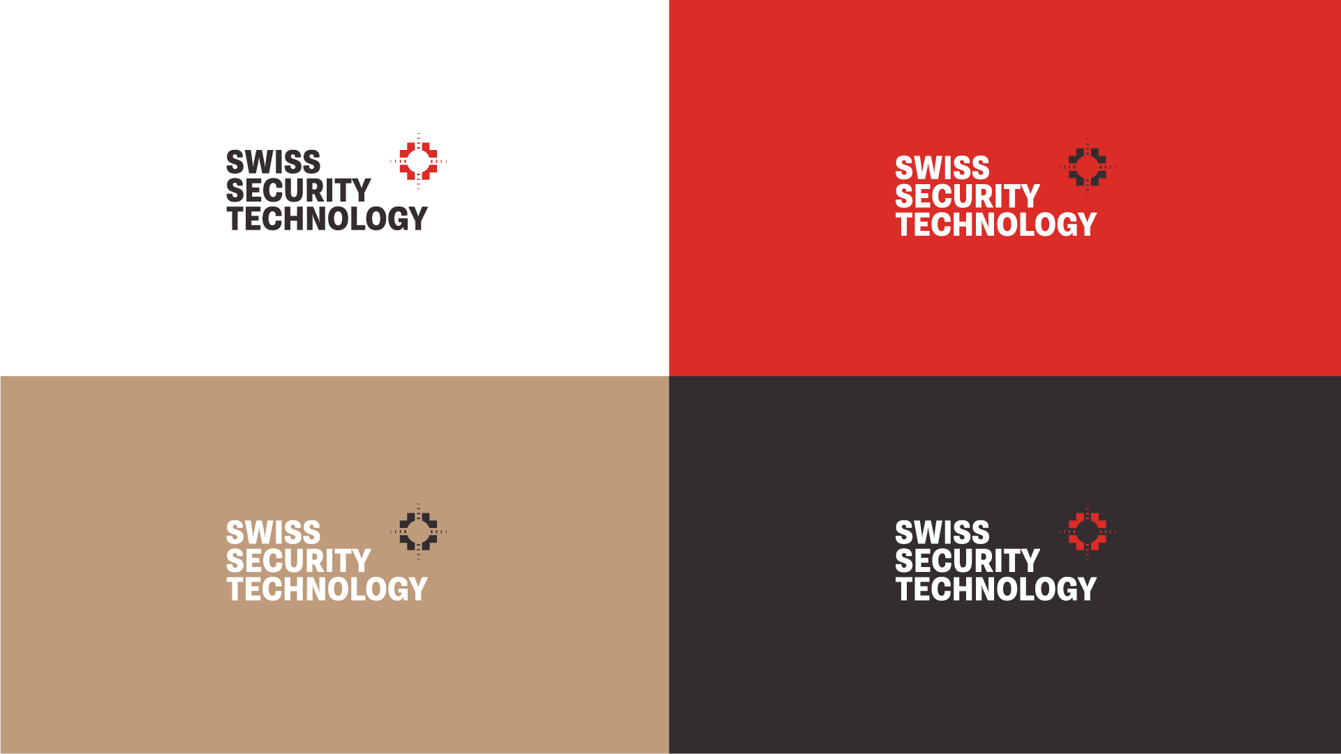Swiss Security Technology Logo Design and Branding by Laura Ramsay Design