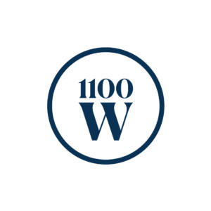 1100 West Capital Partners Logo-strategically invest in quality real estate projects.